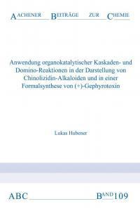 Aachener Beiträge zur Chemie – Band 109