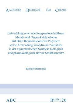 Aachener Beiträge zur Chemie – Band 120