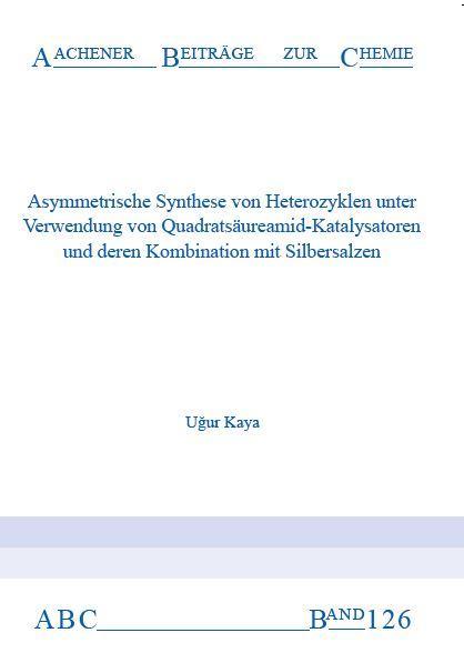 Aachener Beiträge zur Chemie – Band 126