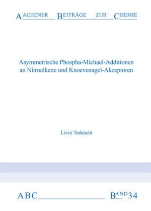 Aachener Beiträge zur Chemie – Band 34