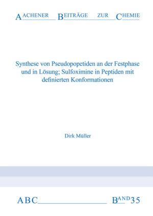 Aachener Beiträge zur Chemie – Band 35