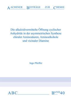 Aachener Beiträge zur Chemie – Band 40