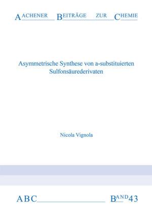 Aachener Beiträge zur Chemie – Band 43