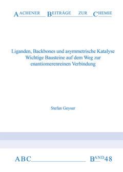 Aachener Beiträge zur Chemie – Band 48