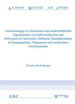 Aachener Beiträge zur Chemie – Band 50