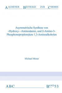 Aachener Beiträge zur Chemie – Band 53