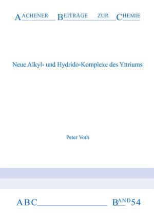 Aachener Beiträge zur Chemie – Band 54