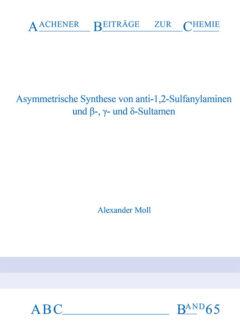 Aachener Beiträge zur Chemie – Band 65