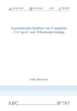Aachener Beiträge zur Chemie – Band 67