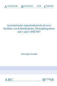 Aachener Beiträge zur Chemie – Band 68