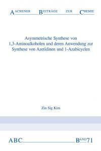 Aachener Beiträge zur Chemie – Band 71