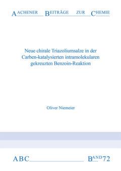 Aachener Beiträge zur Chemie – Band 72