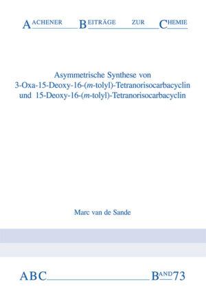 Aachener Beiträge zur Chemie – Band 73