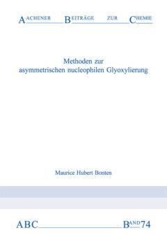 Aachener Beiträge zur Chemie – Band 74