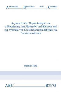 Aachener Beiträge zur Chemie – Band 75