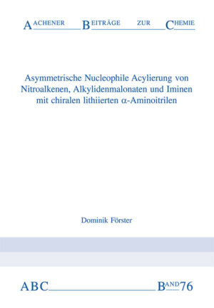 Aachener Beiträge zur Chemie – Band 76
