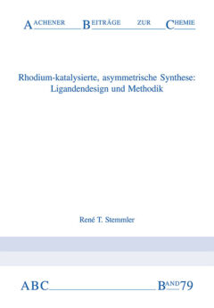 Aachener Beiträge zur Chemie – Band 79
