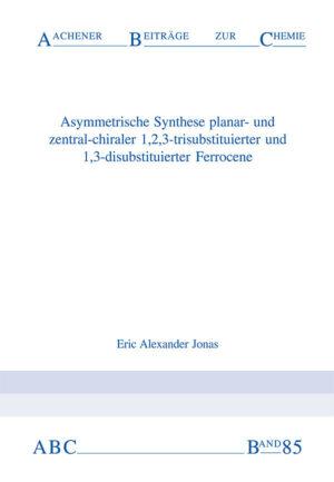 Aachener Beiträge zur Chemie – Band 85