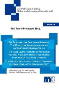 Denktraditionen im Dialog – Band 29 – Die Bedeutung der Erde in den Kulturen