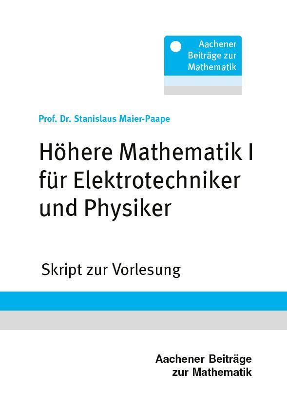 Höhere Mathematik I an der RWTH Aachen